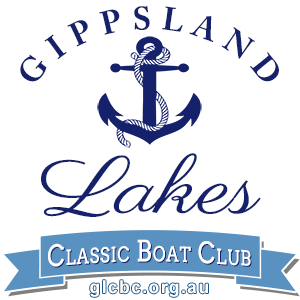 Gippsland Lakes Classic Boat Club Inc official logo