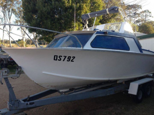 5.4 Metre Hartly (Project Boat)
