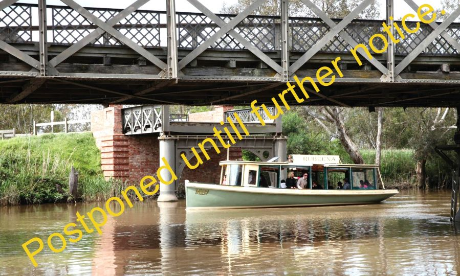 "POSTPONED UNTILL FURTHER NOTICE ""A day in Sale"" - Sale Military museum, BBQ Lunch and a trip on the Rubeena - Saturday 18th April"