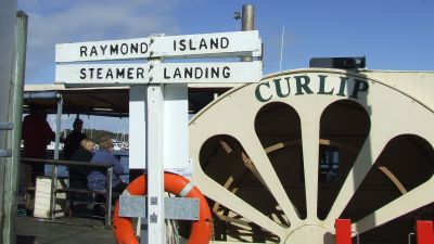 PS Curlip inspection, Raymond Island BBQ with the Wooden Boat Association - Sunday 23rd October 2016