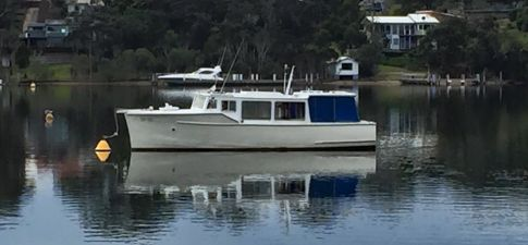 Maya-Grace 30 foot Timber Cruiser built 1950's