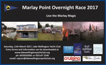 Marlay Point Overnight Race March 2017